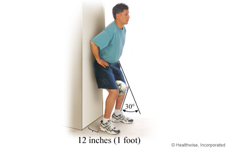 Isometric exercise for the inner part of the quadriceps muscle group